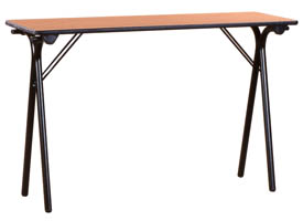 Table pliante 120x40 plateau colori h tre pieds pliants - Table pliante 120 x 60 ...