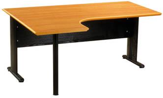 bureau land poirier avec retour int gr 90 gauche. Black Bedroom Furniture Sets. Home Design Ideas