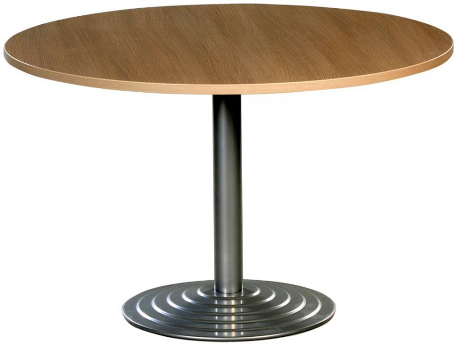Maple Table With Aluminum Base Burorent Fr